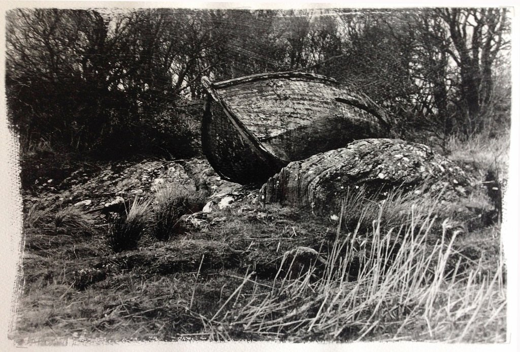 Hauled Out, West Loch, Tabert